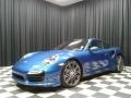 Porsche 911 Turbo Coupe Sapphire Blue Metallic photo #2