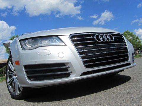 Ice Silver Metallic 2012 Audi A7 3.0T quattro Premium Plus