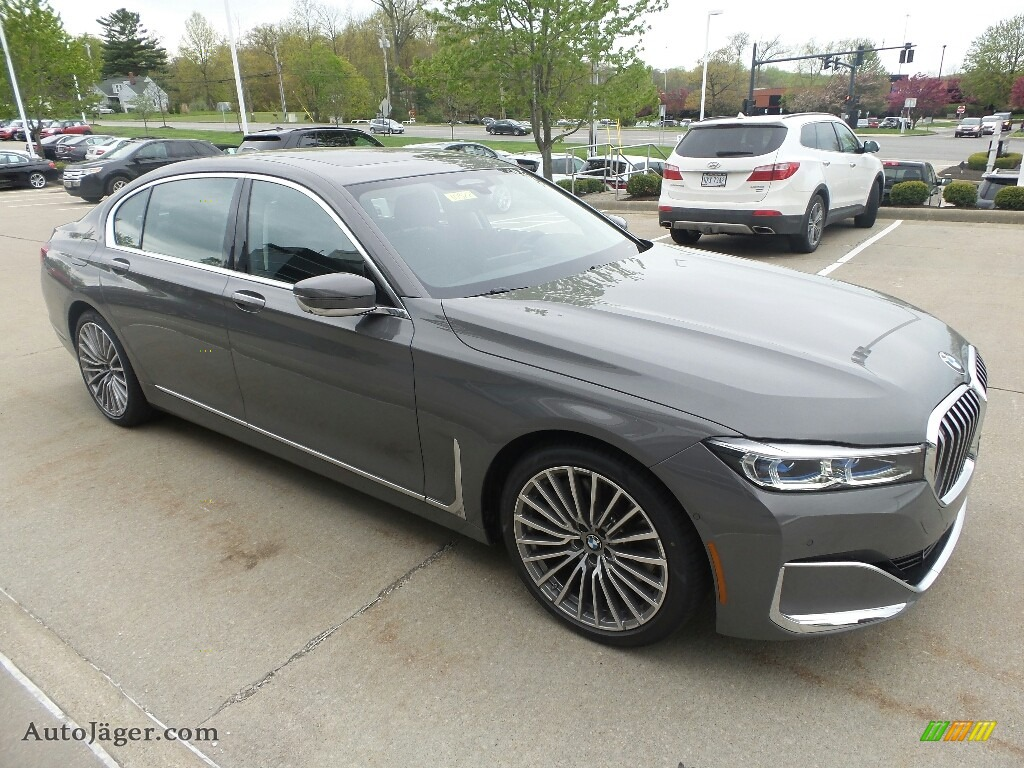 2020 7 Series 750i xDrive Sedan - Bernina Grey Amber Effect / Black photo #1