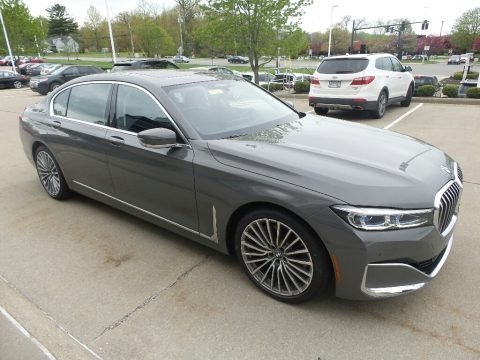 Bernina Grey Amber Effect 2020 BMW 7 Series 750i xDrive Sedan