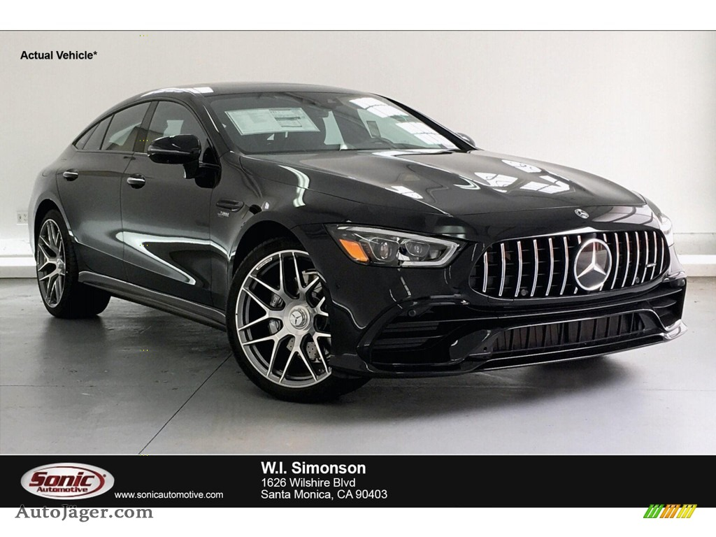 2019 AMG GT 53 - Obsidian Black Metallic / Black photo #1