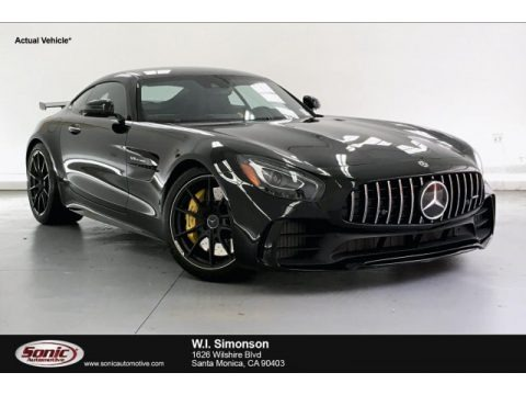 Black 2019 Mercedes-Benz AMG GT R Coupe