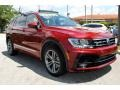 Volkswagen Tiguan SEL R-Line Cardinal Red Metallic photo #2