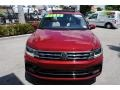 Volkswagen Tiguan SEL R-Line Cardinal Red Metallic photo #3
