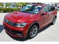 Volkswagen Tiguan SEL R-Line Cardinal Red Metallic photo #4