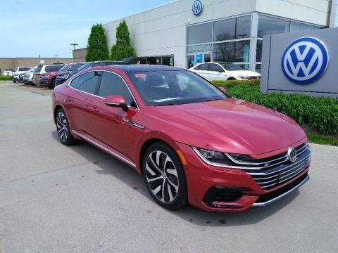 Chili Red Metallic 2019 Volkswagen Arteon SEL R-Line 4Motion