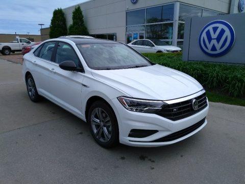 Pure White 2019 Volkswagen Jetta R-Line