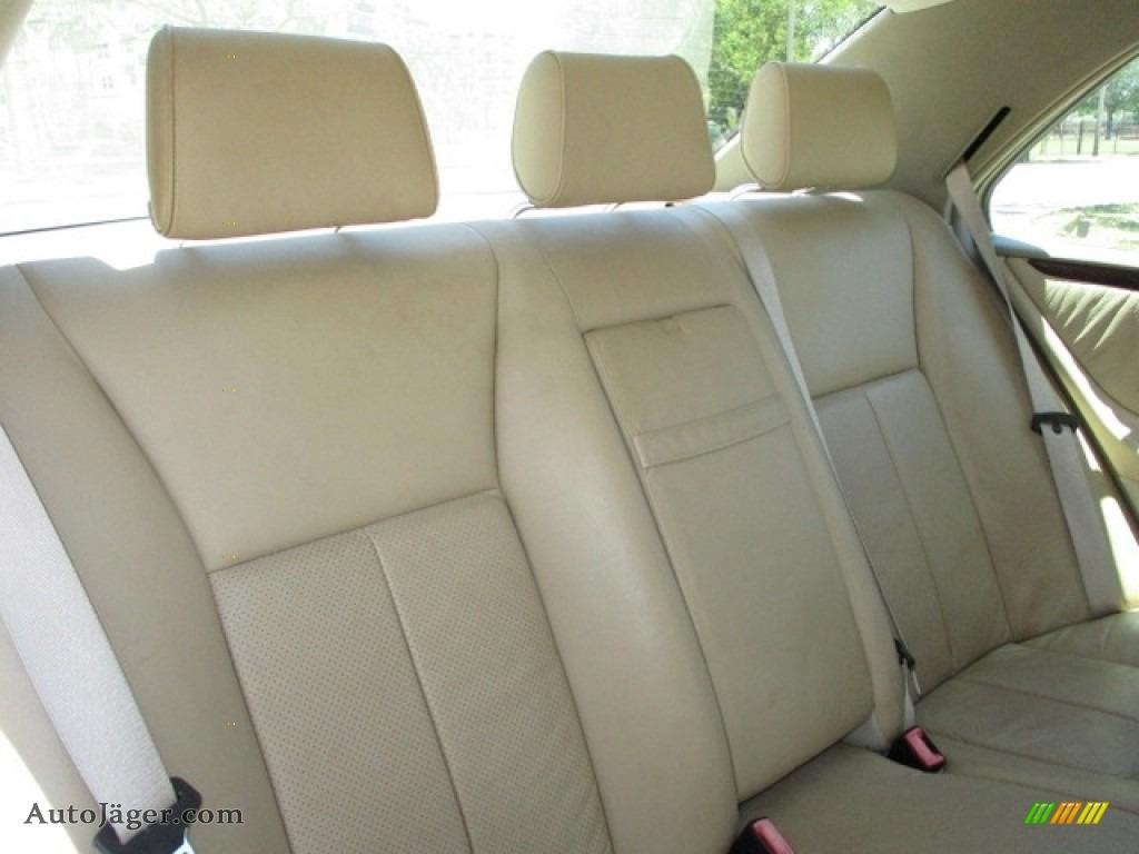 1997 E 420 Sedan - Polar White / Parchment photo #52