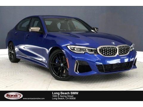 Portimao Blue Metallic 2020 BMW 3 Series 340i Sedan