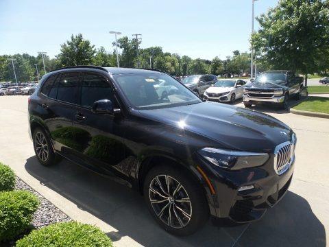 Carbon Black Metallic 2019 BMW X5 xDrive50i
