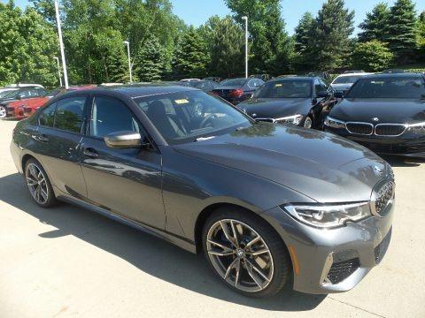 Mineral Grey Metallic 2020 BMW 3 Series 340i xDrive Sedan