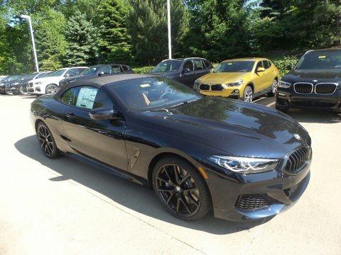 Carbon Black Metallic 2019 BMW 8 Series 850i xDrive Convertible