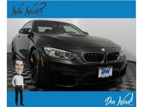Black Sapphire Metallic 2015 BMW M4 Coupe