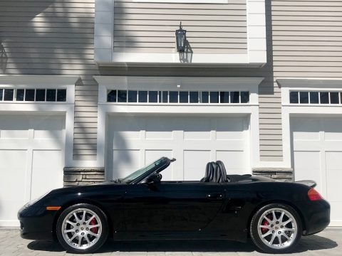 Black 2001 Porsche Boxster S