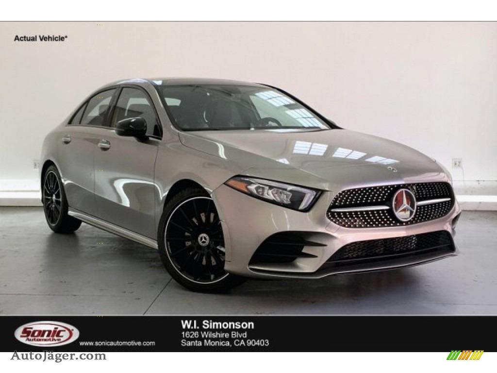 2019 A 220 Sedan - Mojave Silver Metallic / Neva Grey/Black photo #1