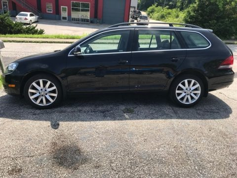 Black 2011 Volkswagen Jetta S SportWagen