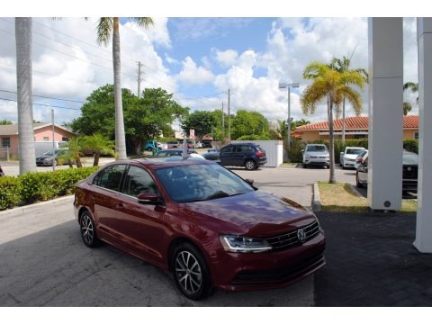 Cardinal Red Metallic 2018 Volkswagen Jetta SE