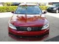Volkswagen Jetta SE Cardinal Red Metallic photo #3