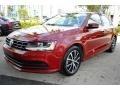 Volkswagen Jetta SE Cardinal Red Metallic photo #5