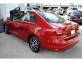 Volkswagen Jetta SE Cardinal Red Metallic photo #6