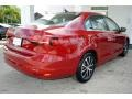 Volkswagen Jetta SE Cardinal Red Metallic photo #10