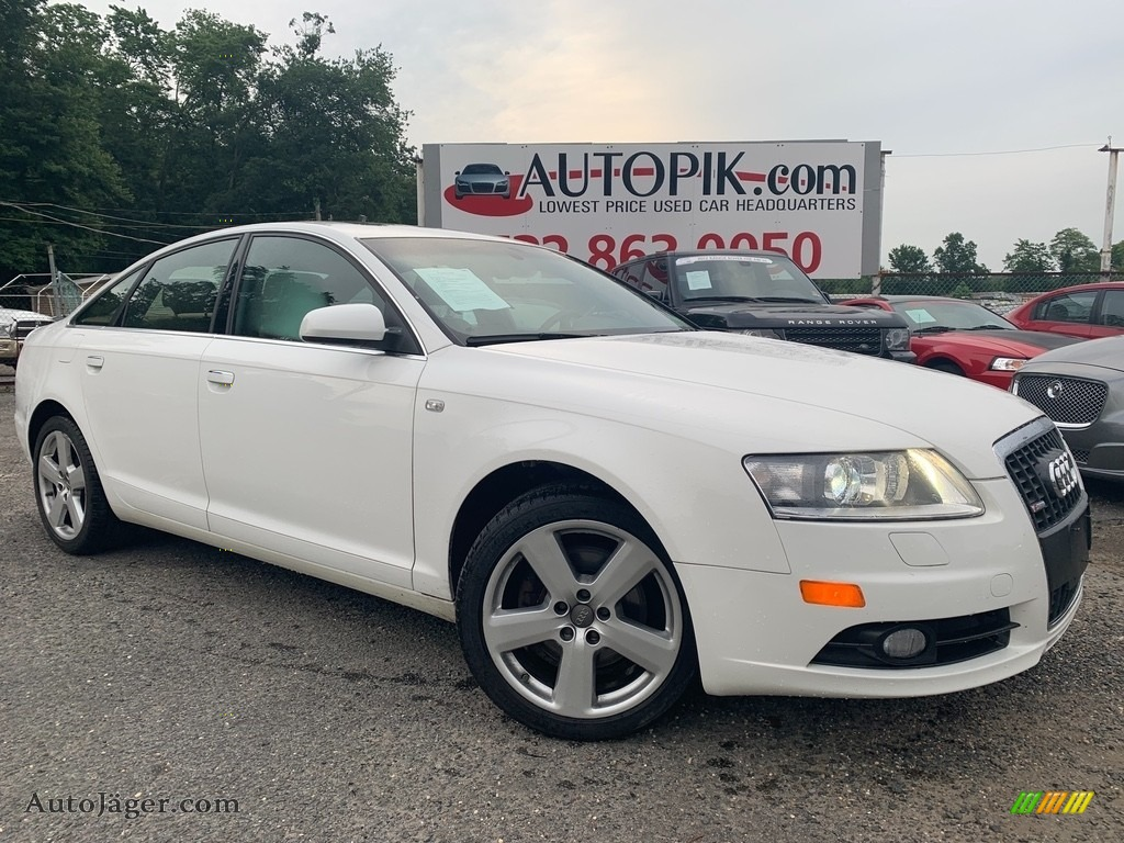 Ibis White / Black Audi A6 3.2 quattro Sedan
