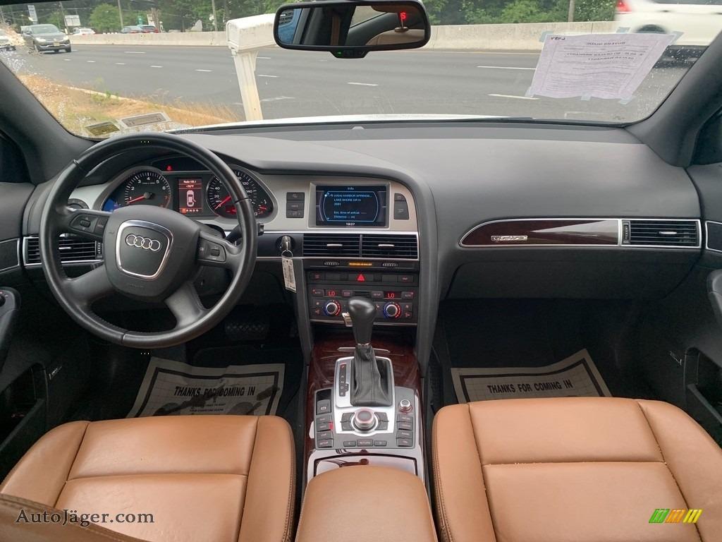 2008 A6 3.2 quattro Sedan - Ibis White / Black photo #13