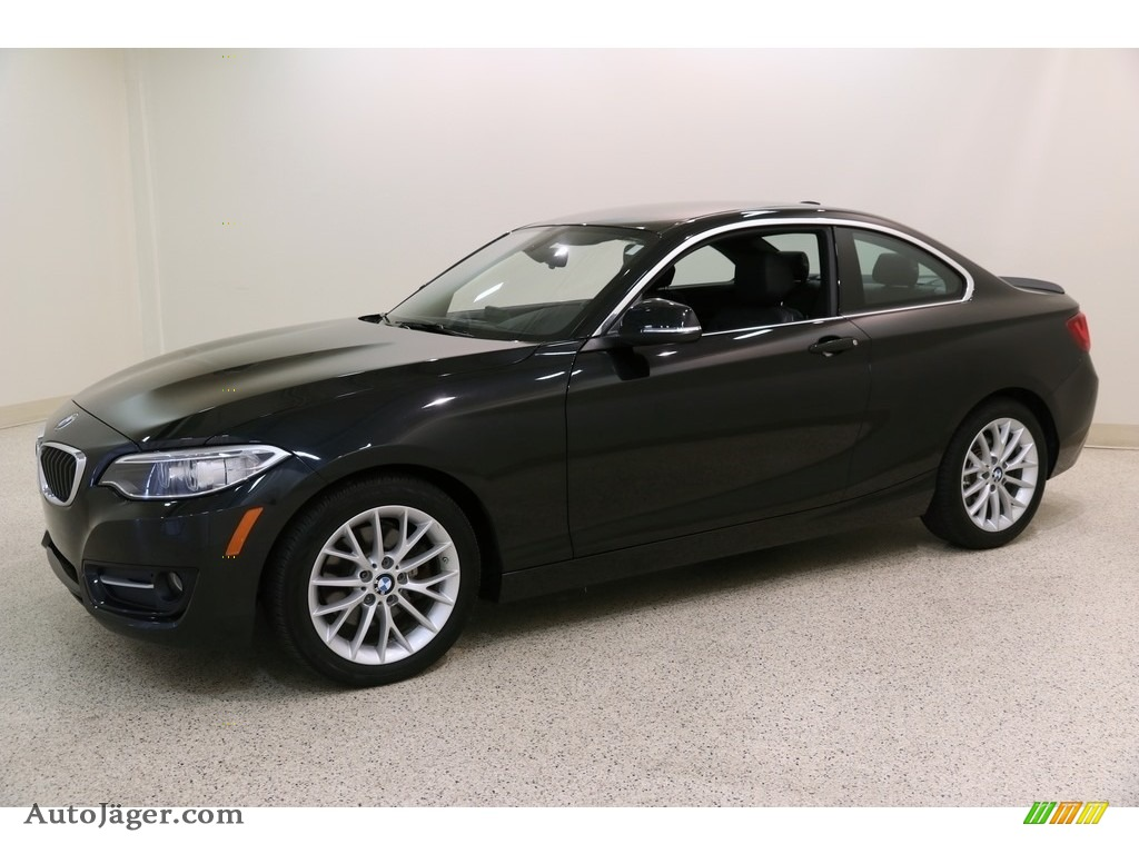 2016 2 Series 228i xDrive Coupe - Black Sapphire Metallic / Black photo #3