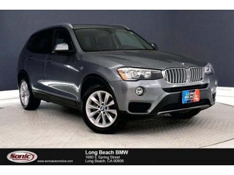 Space Grey Metallic 2016 BMW X3 xDrive28i