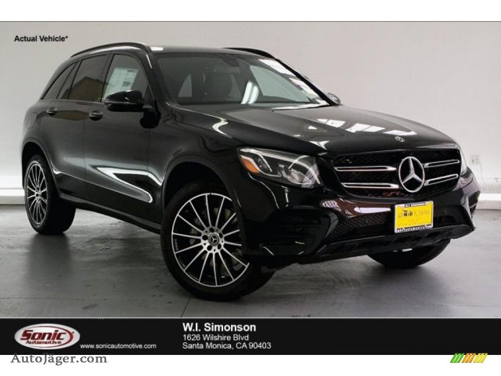 Black / Black Mercedes-Benz GLC 300 4Matic