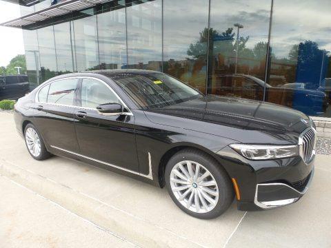 Black Sapphire Metallic 2020 BMW 7 Series 740i Sedan
