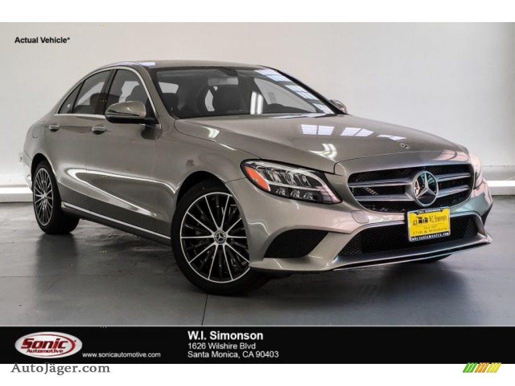 Mojave Silver Metallic / Black Mercedes-Benz C 300 Sedan
