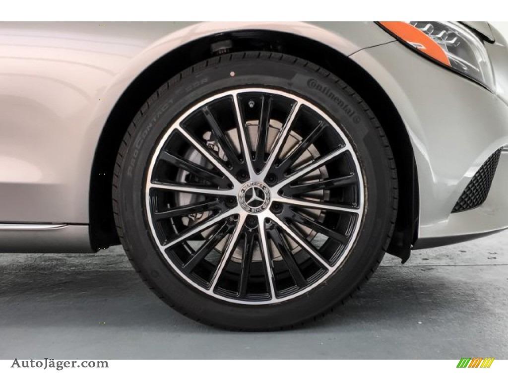 2019 C 300 Sedan - Mojave Silver Metallic / Black photo #9