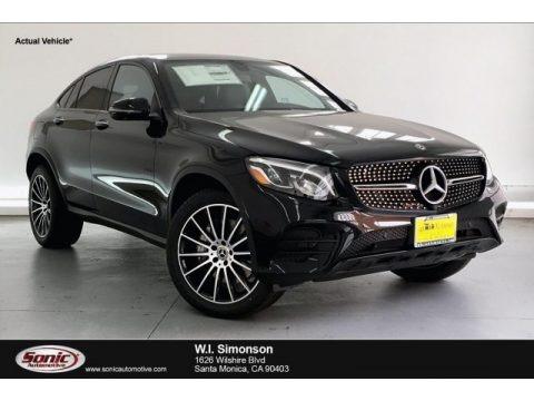 Black 2019 Mercedes-Benz GLC 300 4Matic Coupe