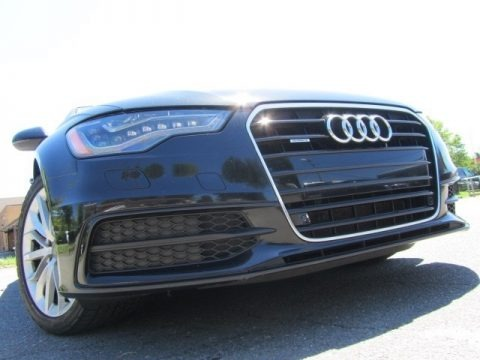 Phantom Black Pearl Effect 2012 Audi A6 3.0T quattro Sedan