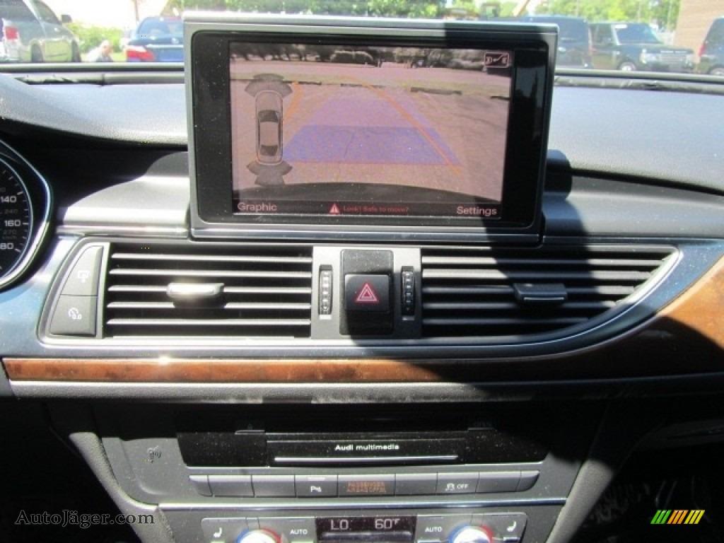 2012 A6 3.0T quattro Sedan - Phantom Black Pearl Effect / Black photo #15