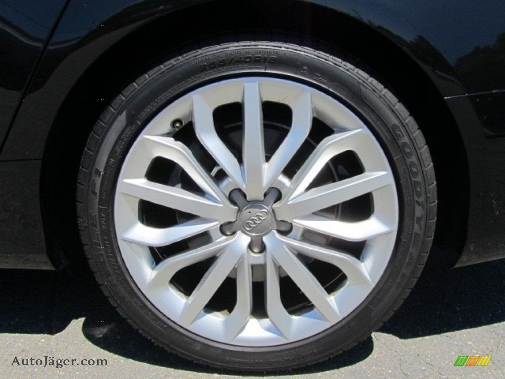 2012 A6 3.0T quattro Sedan - Phantom Black Pearl Effect / Black photo #26