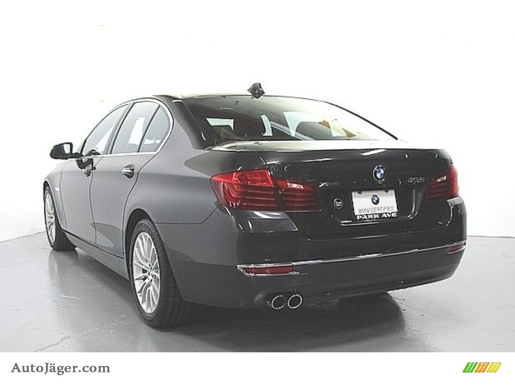 Dark Graphite Metallic / Mocha BMW 5 Series 528i xDrive Sedan