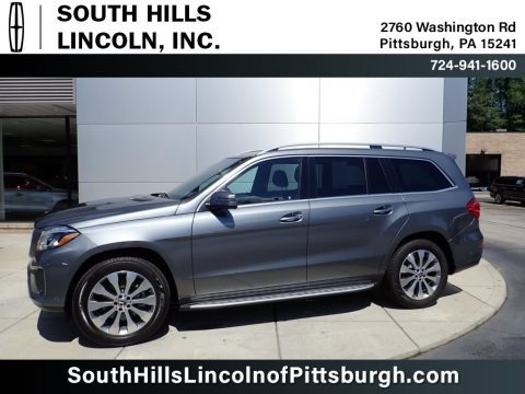 Selenite Grey Metallic 2018 Mercedes-Benz GLS 450 4Matic