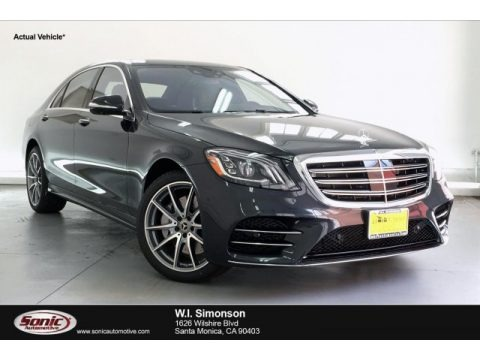 Magnetite Black Metallic 2019 Mercedes-Benz S 450 Sedan