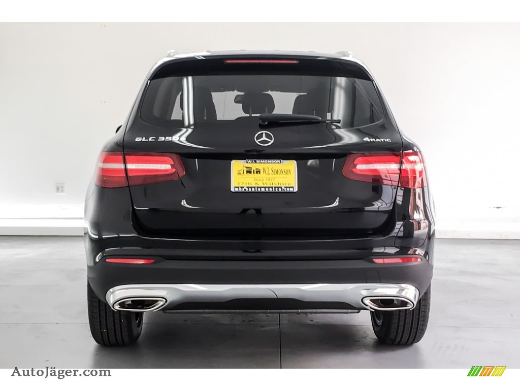 2019 GLC 350e 4Matic - Black / Silk Beige/Black photo #3