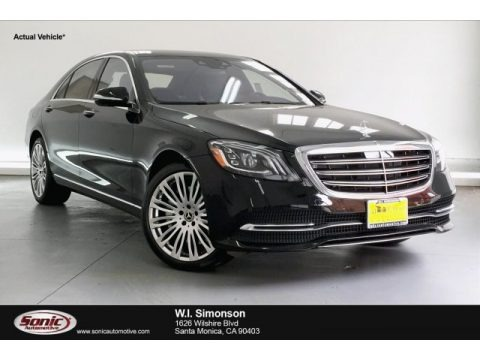 Black 2019 Mercedes-Benz S 450 Sedan