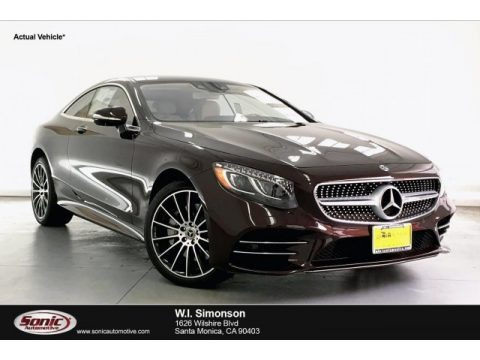 Rubellite Red Metallic 2019 Mercedes-Benz S 560 4Matic Coupe
