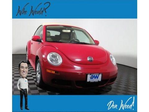 Salsa Red 2009 Volkswagen New Beetle 2.5 Convertible