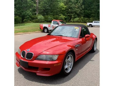 Imola Red 2000 BMW M Roadster