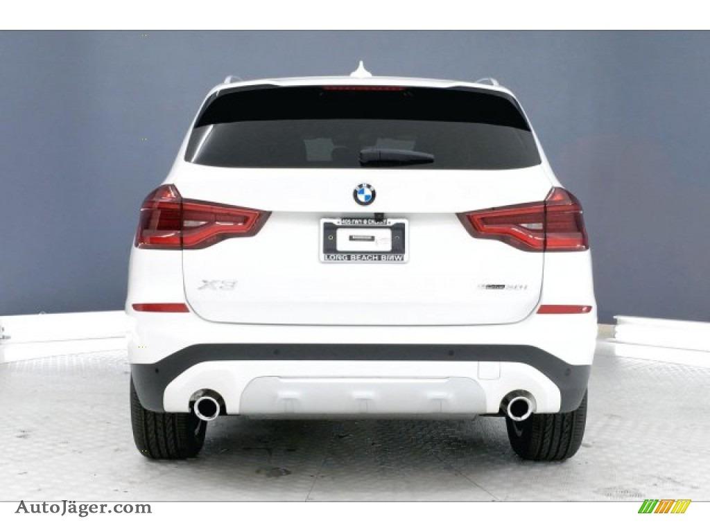 2019 X3 sDrive30i - Alpine White / Black photo #3
