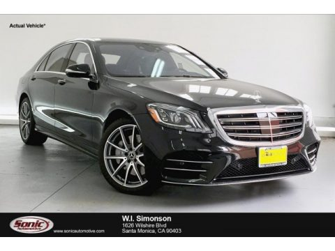 Black 2019 Mercedes-Benz S 560 Sedan