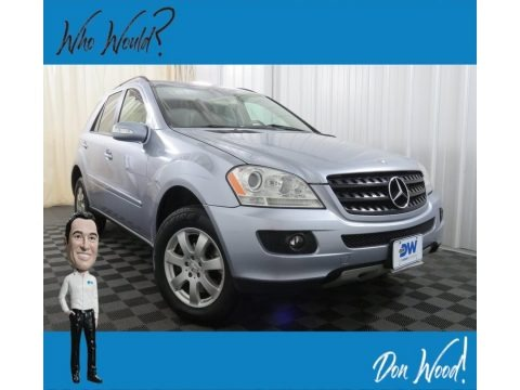 Capri Blue Metallic 2006 Mercedes-Benz ML 350 4Matic