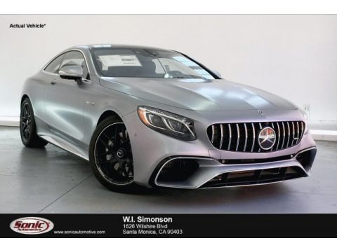designo Allanite Grey Magno (Matte) 2019 Mercedes-Benz S AMG 63 4Matic Coupe