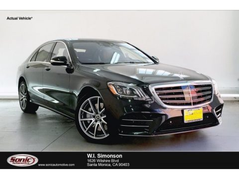 Magnetite Black Metallic 2019 Mercedes-Benz S 560 Sedan